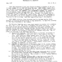 May 1958 NCFR Newsletter