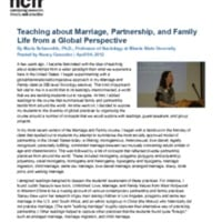 http://images.ncfr.org/webconvert/archive/Teaching_about_Marriage_Partnership_and_Family_Life_from_a_Global_Perspective_NCFR.pdf