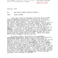 QFRN Newsletter - February 1987