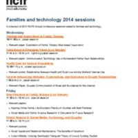 http://images.ncfr.org/webconvert/archive/Families_and_technology_2014_sessions_NCFR.pdf