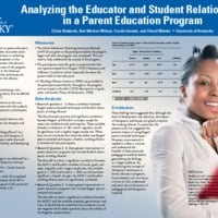 Analyzing the Educator and Student Relationship in a Parent Education Program