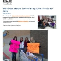 http://images.ncfr.org/webconvert/archive/Wisconsin_affiliate_collects_542_pounds_of_food_for_drive_NCFR.pdf