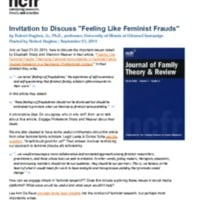 http://images.ncfr.org/webconvert/archive/Invitation_to_Discuss_Feeling_Like_Feminist_Frauds_NCFR.pdf