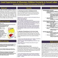 Where have I come from and where am I going?: Conceptions of Ghanaian Children Formerly in Forced Labor