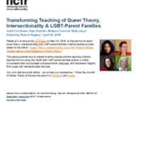 http://images.ncfr.org/webconvert/archive/Transforming_Teaching_of_Queer_Theory_Intersectionality_LGBT_Parent_Families_NCFR.pdf