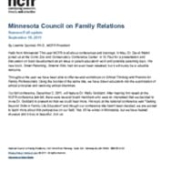 Minnesota Council on Family Relations