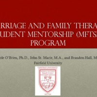 Marriage and Family Therapy Student Mentorship: A Model for Training