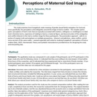 Are You My Mother? Evangelicals' Ambiguous Perceptions of Maternal God Images
