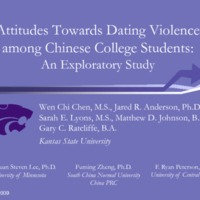 Attitudes Towards Dating Violence Among Chinese College Students