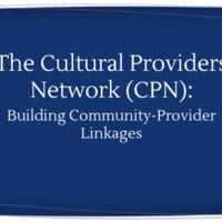 The Cultural Provider's Network