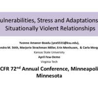 https://www.ncfr.org/sites/default/files/downloads/news/329 - Vulnerabilities, Stress, Adaptations in Situationally Violent Relationships.pdf