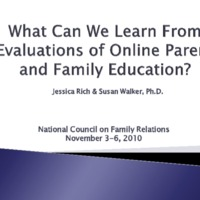 https://www.ncfr.org/sites/default/files/downloads/news/333 - What Can We Learn From Evaluations of Online Parent and Family Education.pdf