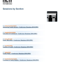 http://images.ncfr.org/webconvert/archive/Sessions_by_Section_NCFR.pdf