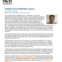 http://images.ncfr.org/webconvert/archive/A_Note_From_Paternity_Leave_NCFR.pdf
