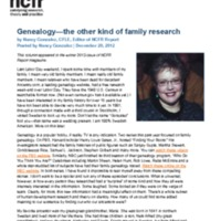 http://images.ncfr.org/webconvert/archive/Genealogy_the_other_kind_of_family_research_NCFR.pdf