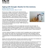 http://images.ncfr.org/webconvert/archive/Aging_with_Google_thanks_for_the_memory_NCFR.pdf
