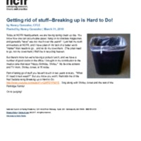 http://images.ncfr.org/webconvert/archive/Getting_rid_of_stuff_Breaking_up_is_Hard_to_Do_NCFR.pdf