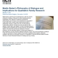 http://images.ncfr.org/webconvert/archive/Martin_Bubers_Philosophy_of_Dialogue_and_Implications_for_Qualitative_Family_Research_NCFR.pdf