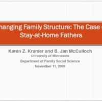 Changing Family Structure: The Case of Stay-at-Home Fathers