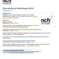 http://images.ncfr.org/webconvert/archive/Preconference_Workshops_2014_NCFR.pdf