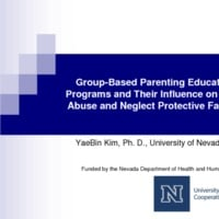 Group-Based Parenting Education Programs and Their Influence on Child Abuse and Neglect Protective Factors