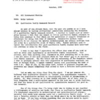 QFRN Newsletter - October 1985