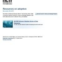 http://images.ncfr.org/webconvert/archive/Resources_on_adoption_NCFR.pdf