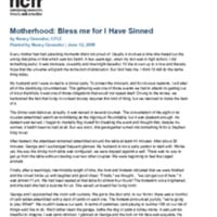 http://images.ncfr.org/webconvert/archive/Motherhood_Bless_me_for_I_Have_Sinned_NCFR.pdf