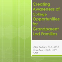 Creating Awareness of College Opportunities for Grandparent Led Families
